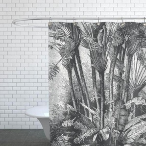Palms in Water - Duschvorhang