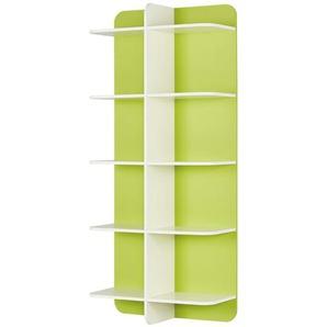 Paneelregal  Maddox ¦ grün ¦ Maße (cm): B: 90 H: 200 T: 38 Regale  Bücherregale » Höffner
