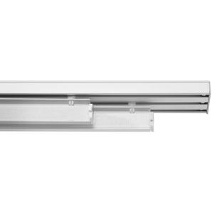 Paneelwagen, LICHTBLICK, Flächenvorhangschiene, (1-St), in 60 cm Breite, inkl. Flauschband