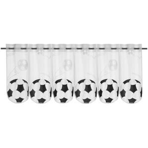 Panneaux »Fußball«, WILLKOMMEN ZUHAUSE by ALBANI GROUP, Stangendurchzug (1 Stück), Jacquard-Lamellen-Pannaux
