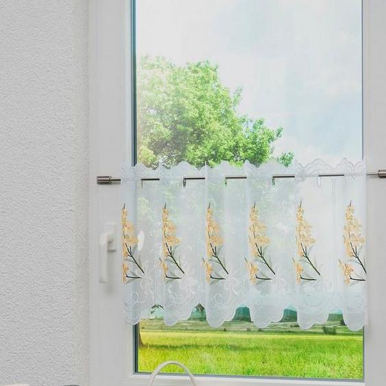 Panneaux »Saskia«, Stickereien Plauen, Stangendurchzug (1 Stück)