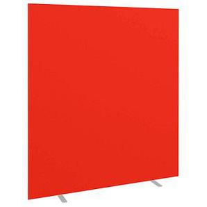 PAPERFLOW easyScreen Stellwand rot 160,0 x 173,2 cm