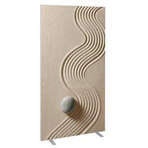 PAPERFLOW easyScreen Stellwand Sand 94,0 x 173,2 cm