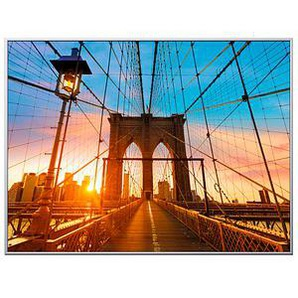 PAPERFLOW Wandbild Brooklyn Bridge