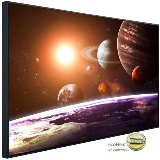 Papermoon Infrarotheizung »EcoHeat - Solar System«, Aluminium, 750 W, 60 x 120 cm, mit Rahmen