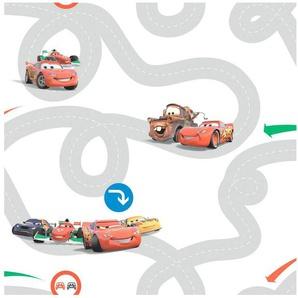 DISNEY Papiertapete »Cars Racetrack«, Disney, 1000 cm