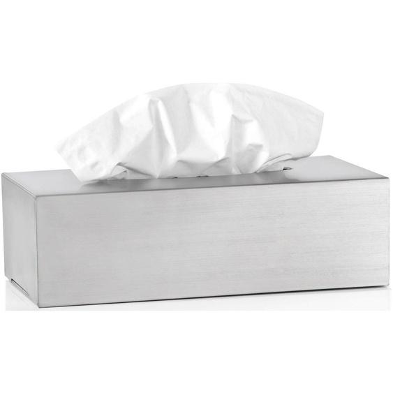 Papiertuchbox »Kleenexbox -NEXIO-«, 12x7.5x24 cm (BxHxT), blomus, Material Edelstahl