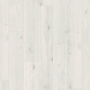 PARADOR Laminat »Basic 400 - Eiche kristallweiß«, 1285 x 194 mm, Stärke: 8 mm
