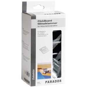 PARADOR Mittelklammer »ClickBoard«, 50 Stk., inkl. 50 Holzschrauben