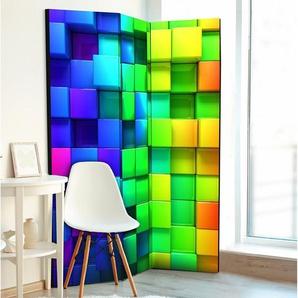 Paravent Colourful Cubes
