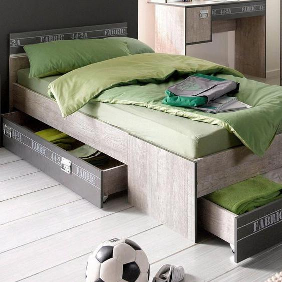 Parisot Bett »Fabric«, inkl. Schubkasten