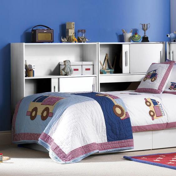 Parisot Bett Snoopy 1, (5-tlg.) Einheitsgröße weiß Kinder Kinderbetten Kindermöbel Betten