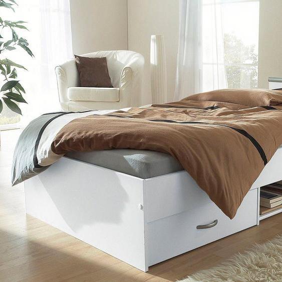Parisot Funktionsbett 90x200 cm weiß Doppelbetten Betten Daybetten