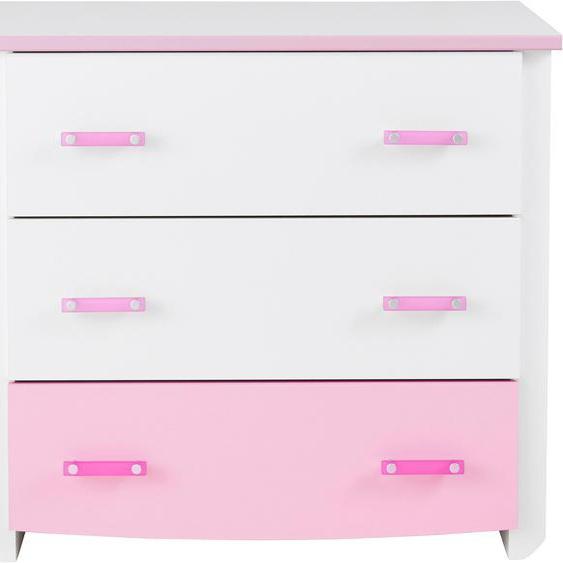 Parisot Kommode Biotiful 90x45x79 cm rosa Kinder Kinderkommoden Kindermöbel Sideboards