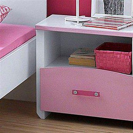 Parisot Nachtkonsole Biotiful 44x28x44 cm rosa Kinder Kindernachttische Kindermöbel Sideboards
