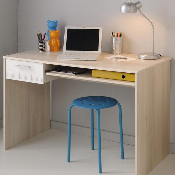Parisot Schreibtisch Charly Tischplatte: Holzwerkstoff, Gestell: Holzwerkstoff beige Kinder Jugendschreibtische Jugendmöbel Kindermöbel Tisch