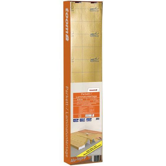 Parkett- und Laminatunterlage 0,16 cm, mit Feuchtigkeitsschutz