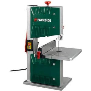 PARKSIDE® Bandsäge »PBS 350«, 350 Watt, mit Parallelanschlag, stufenlos neigbarer Tisch