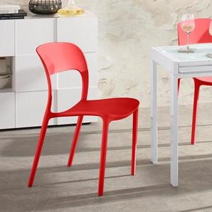 Stühle, stapelbar (4 Stück)