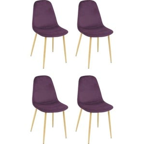 Esszimmerstühle in Lila Preisvergleich   Moebel 24
