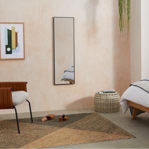 Parton Spiegel (40 x 120 cm), Mattschwarz