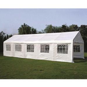 Party Gartenzelt in Weiß 4m
