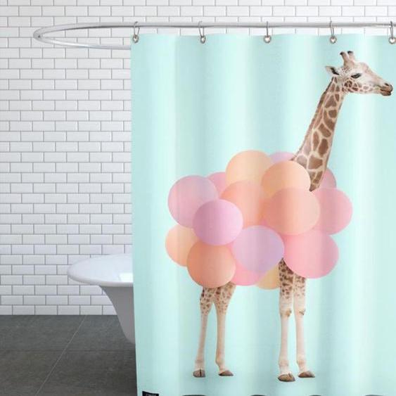 Party Giraffe - Duschvorhang