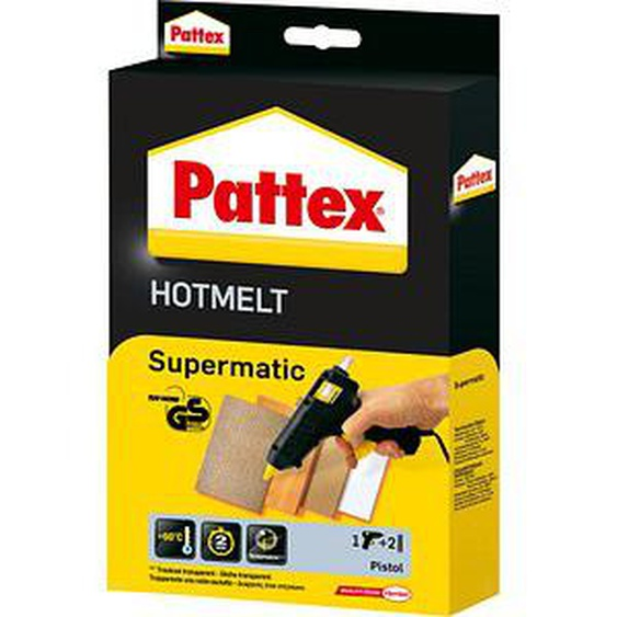 Pattex Heißklebepistole Supermatic Hot Melt