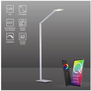 Paul Neuhaus LED Stehlampe »Q - HANNES«, LED Stehleuchte, Smart Home, CCT, FB, dimmbar, Höhe 148,0cm