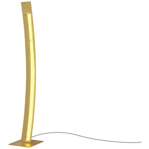 Paul Neuhaus LED-Stehleuchte, blattgoldfarben ¦ gold