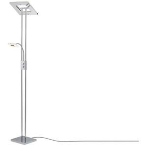 Paul Sommerkamp Leuchten LED-Deckenfluter, 2-flammig Chrom ¦ Maße (cm): B: 28,5 H: 181