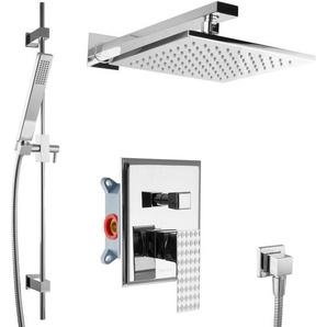 UP-Dusche Set Fertigmontage Regendusche mit Duschstange Brausegarnitur - PAULGURKES