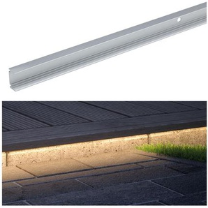 Paulmann Aluminiumprofil Plug & Shine silbern 1 m