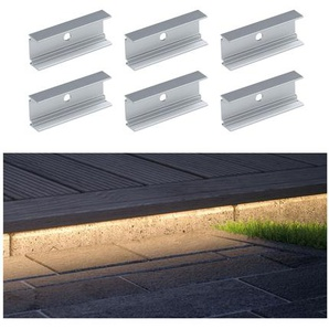 Paulmann Clip Plug & Shine weiß 6 Stück