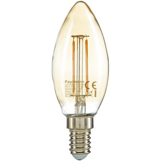 Paulmann LED-Kerze Filament E14 golden/silbern