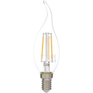 Paulmann LED-Lampe Cosylight Kerze klar Ø 35 x 120 mm 4,5 W