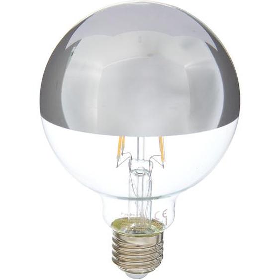 Paulmann LED-Lampe mit Kopfspiegel Tropfen klar/metall Ø 95 x 138 mm 6 W