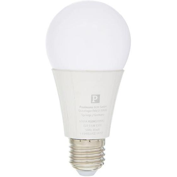 Paulmann LED-Lampe mit RBGW weiß 7,5 W Ø 60 x 120 mm