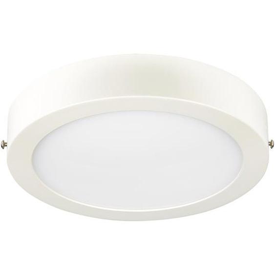 Paulmann LED-Panel Lunar weiß, matt, rund