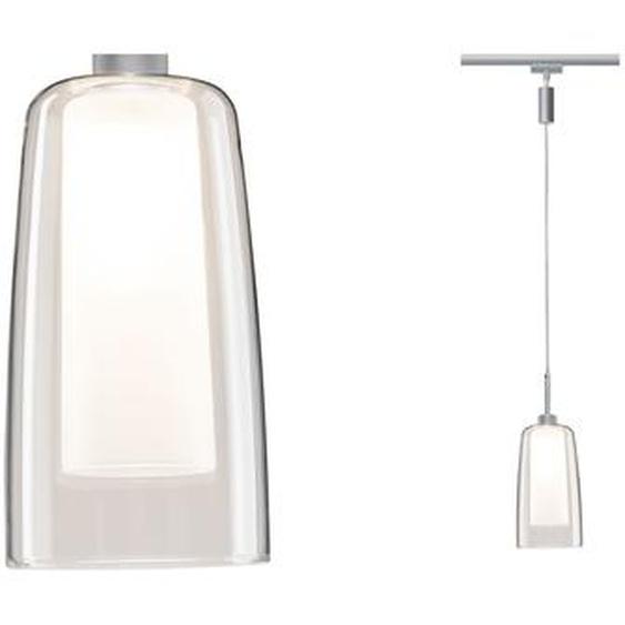 Paulmann LED-Pendel URail Arido II 5 W GU10 Chrom matt/klar/Satin
