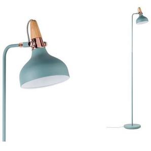 Paulmann LED Stehlampe »Neordic Juna Softgrün/Kupfer/Holz«, 1-flammig