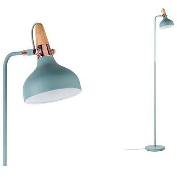 Paulmann LED Stehlampe »Neordic Juna Softgrün/Kupfer/Holz«