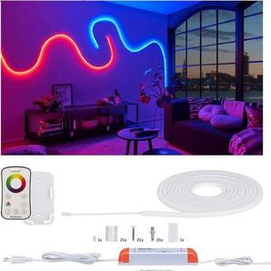 Paulmann LED-Streifen »MaxLED Flow Basisset 5m RGB inkl. Fernbedienung«