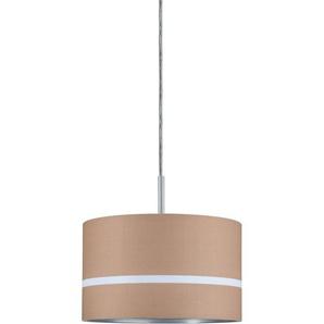 Paulmann URail Lampenschirm DecoSystems Tessa Ø 25,5 cm Caramel