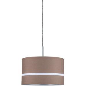Paulmann URail Lampenschirm DecoSystems Tessa Ø 25,5 cm Dunkelbraun