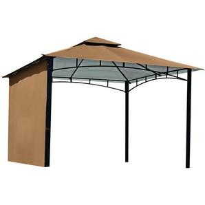 Pavillon Alina cappuccinofarben 335 x 290 x 335 cm