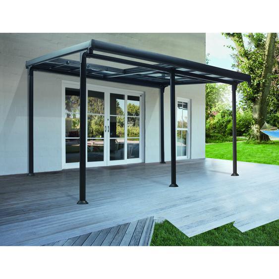 Pavillon Diana schwarz 400 x 300 x 267 cm