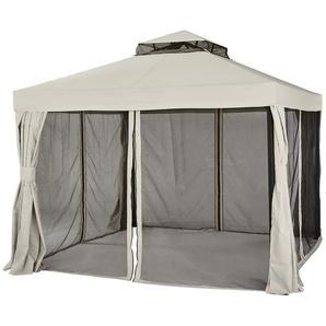 Pavillon  Sahara ¦ beige ¦ Maße (cm): B: 300 H: 280 T: 300 Garten  Gartenmöbel  Pavillons » Höffner