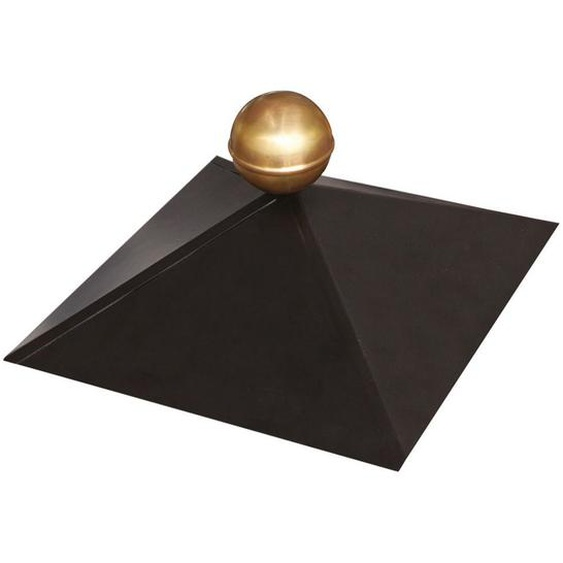 Pavillonhaube Karibu schwarz 35,5 x 35,5 cm