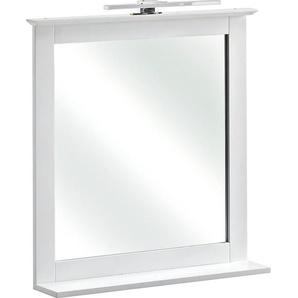 Pelipal Bad-Spiegel Jasper 68 cm x 60 cm x 12 cm Weiß